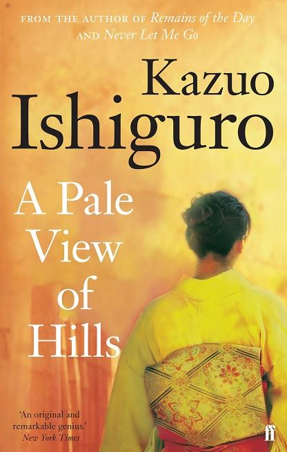 PALE VIEW OF HILLS, A | 9780571258253 | ISHIGURO, KAZUO
