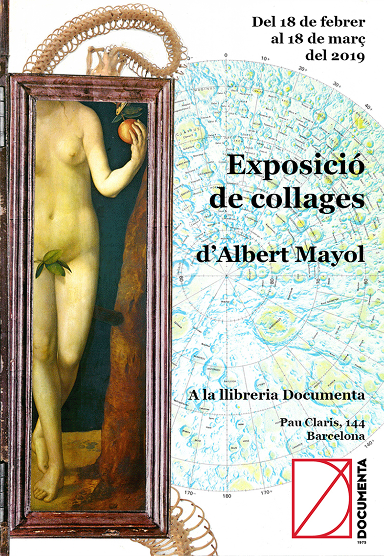 Exposició collages Albert Mayol |