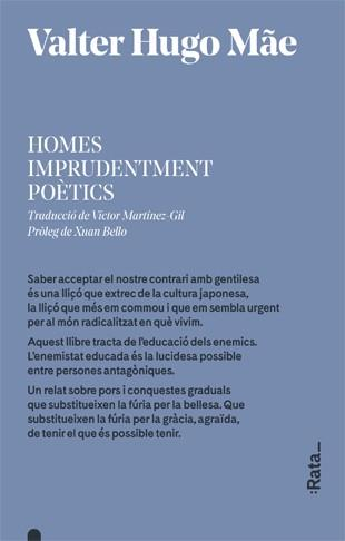 HOMES IMPRUDENTMENT POÈTICS | 9788416738380 | HUGO MÃE, VALTER