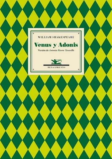 VENUS Y ADONIS | 9788416685585 | SHAKESPEARE, WILLIAM